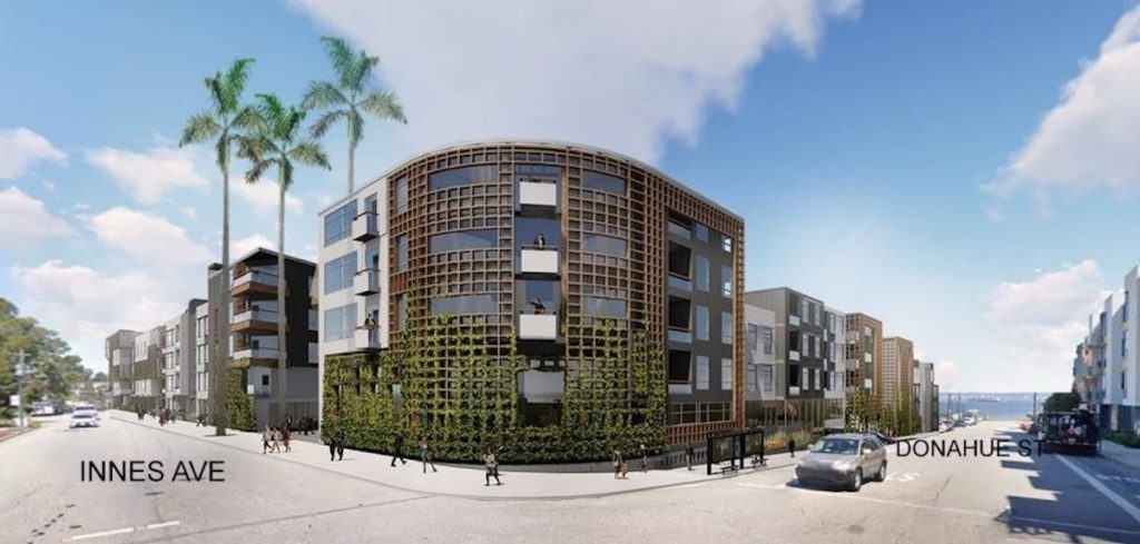 Hunters Point Shipyard is Getting a New Apartment Complex